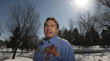 Regional Chief Perry Bellegarde, the AFN's point person on treaties, in Saskatoon Sunday. (Liam Richards for The Globe and Mail)