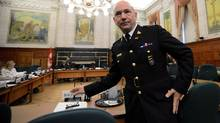 RCMP commissioner Bob Paulson appears at a Commons status of women committee on Parliament Hill in Ottawa on Tuesday, Feb. 26, 2013. (Sean Kilpatrick/THE CANADIAN PRESS)