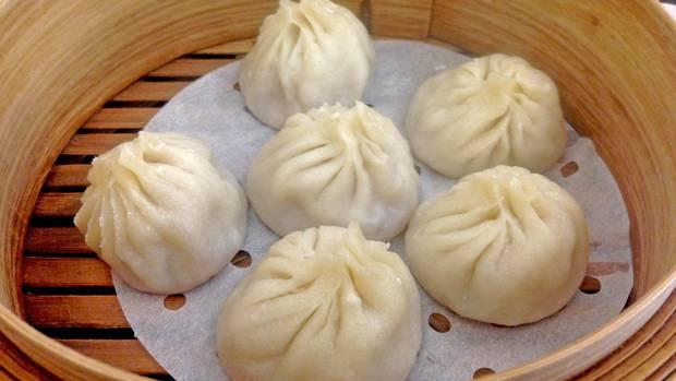 Xiao long bao (pork dumplings)