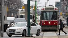 A Toronto streetcar. (Deborah Baic/The Globe and Mail)