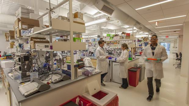 Boston's LabCentral was opened by Johannes Fruehauf and Peter Parker in 2013.