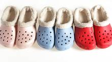 Winter crocs. (FERNANDO MORALES/THE GLOBE AND MAIL)