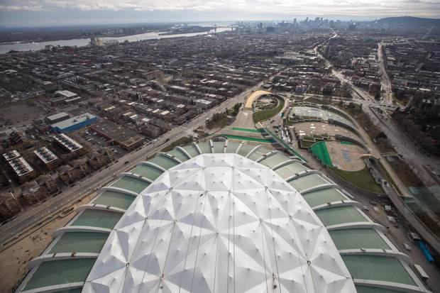 Montreal's Olympic Stadium has become an enormous white elephant, but officials have decided the estimated tear-down cost of up to $700-million rules out that option.