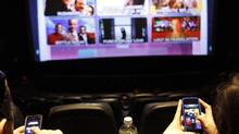 Cineplex and TimePlay will expand to 725 theatres across Canada this year. (Fernando Morales/The Globe and Mail)
