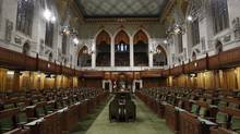 The House of Commons on Parliament Hill in Ottawa is pictured September 14, 2012. Parliamentarians will return from their summer break September 17. (CHRIS WATTIE/REUTERS)