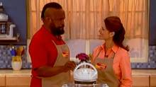 Mr. T flogs the FlavorWave Oven in a Thane infomercial. Thane says it receives an average of between eight and 10 orders for each half-hour spot it airs, in each market on a global basis. (Thane Direct/Thane Direct)