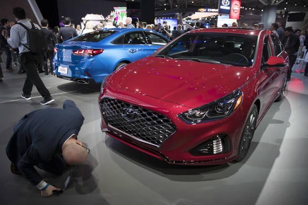 2018 Hyundai Sonata GLS.