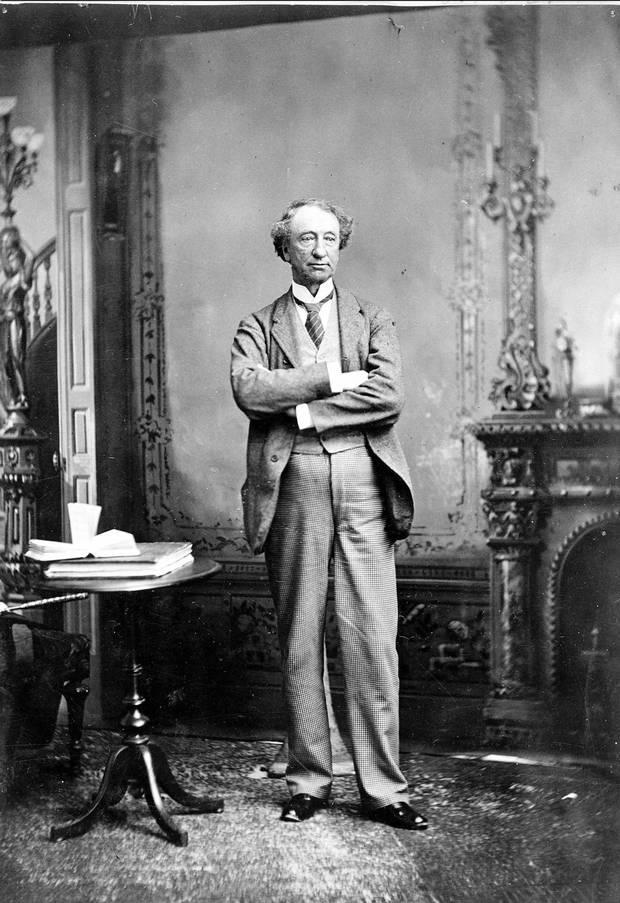 Sir John A. Macdonald (date unknown).