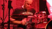 FILE PHOTO: Drummer Jason Bonham performs during U.S. rock band Foreigner's concert in Tokyo Tuesday, March 13, 2007. (Koji Sasahara/AP)