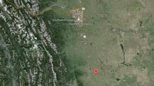 The town of Claresholm, Alta, has begun evacuating residents from their homes due to flooding. (GOOGLE EARTH)