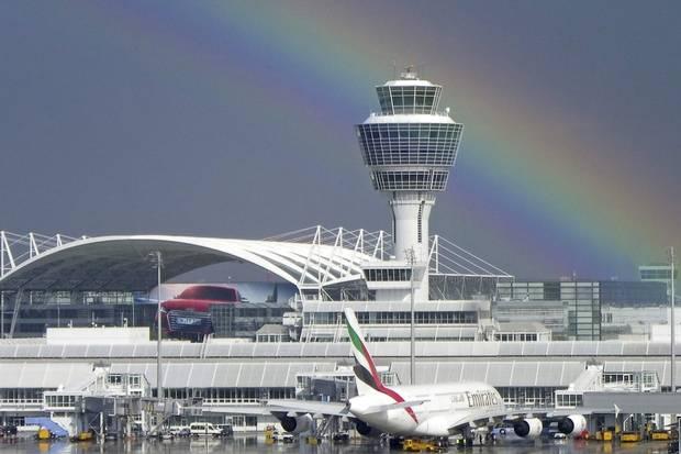 Munich Airport.