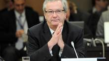 Chief electoral officer Marc Mayrand is shown in Ottawa on March 29, 2012. (SEAN KILPATRICK/THE CANADIAN PRESS)