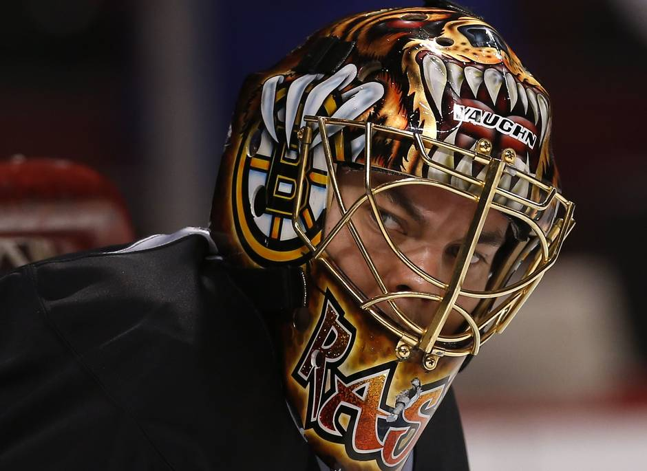 Nhl goalie masks come to life with airbrushed flair the globe and mail reuters maxwellsz