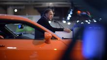 Chrysler-Fiat chief executive Sergio Marchionne is asking for a government handout to retool a minivan plant in Windsor and keep jobs in Canada. (Fred Lum/Fred Lum/The Globe and Mail)