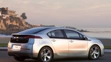 Chevrolet Volt. Sales of hybrids and plug-in electric vehicles are currently at all-time highs. (General Motors)