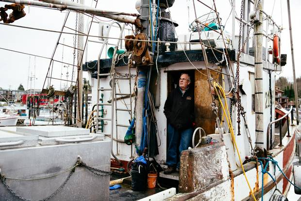 Fisherman Dan Edwards – seen with his boat in Ucluelet, B.C. in December – is part of a hard-working fishing family that included his father and grandfather. A quota system, meant to encourage sustainability and make fishing safer, instead created a new problem: Quotas, it turns out, are more valuable than fish.