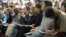 First-year classes are often massive. (Fred Lum/Fred Lum/The Globe and Mail)