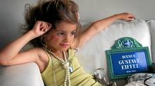 A new line of French lingerie for girls aged 4 to 12 is sparking international outrage.