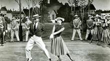 An American in Paris, the kind of Hollywood musical that inspired French director Jacques Demy.