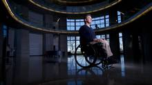Rick Hansen's foundation has created an app called Planat that allows people to rate how accessible buildings are. (JIMMY JEONG/JIMMYSHOOTS.COM)