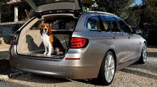 The BMW 5-Series touring wagon is not available in North America. (BMW)