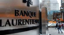 Laurentian Bank's main branch in downtown Montreal. (John Morstad/John Morstad/The Globe and Mail)