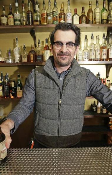 Let's get lost. This week in celebritydom begins in Salt Lake City, where Modern Family star Ty Burrell just opened a beer bar, called Beer Bar, that serves up 150 different varieties of suds. And you thought Homer Simpson was a terrible TV dad? (Rick Bowmer/Associated Press)