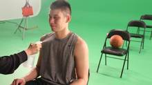 Basketball star Jeremy Lin in a scene from the documentary Linsanity. (Michael Bow)