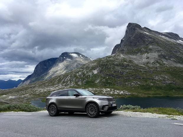 2018 Range Rover Velar.