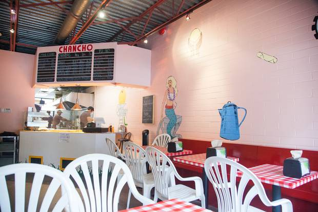 The menu at Chanco Tortilleria is simple.