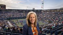 WTA chairman and CEO Stacey Allaster is credited with helping the women's game grow financially and internationally. (Moe Doiron/The Globe and Mail)