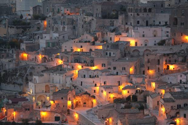 The porous limestone caves of Matera have been inhabited since prehistoric times, making the southern Italian Basilicatan city one of the oldest continually inhabited troglodyte communities in Italy.