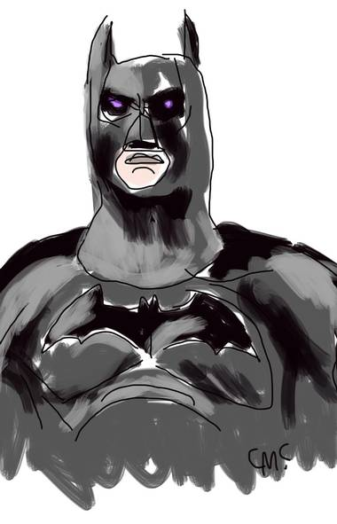Batman (1989) Directed by Tim Burton Caped crusader: Michael Keaton Batfan rating: 9 out of 10 (Illustration by Cinders McLeod/The Globe and Mail)