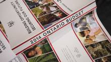 Standard & Poor's on Monday opted to leave the province's rating unchanged, at AA– for long-term debt and A-1+ for short term credit with a negative outlook, sparing the Liberal government a downgrade just a week after reintroducing its budget. (Darren Calabrese/The Canadian Press)