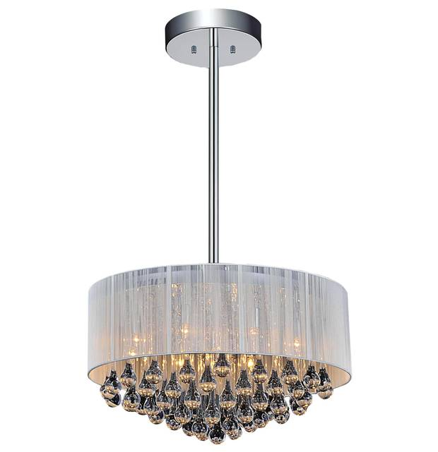 Gocce crystal chandelier, $559 at Brizzo (www.brizzo.ca).