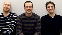 Sortable co-founders, from left, Chris Reid, Alex Black and Mark Feeney (ALEX BLACK/COURTESY OF SORTABLE)
