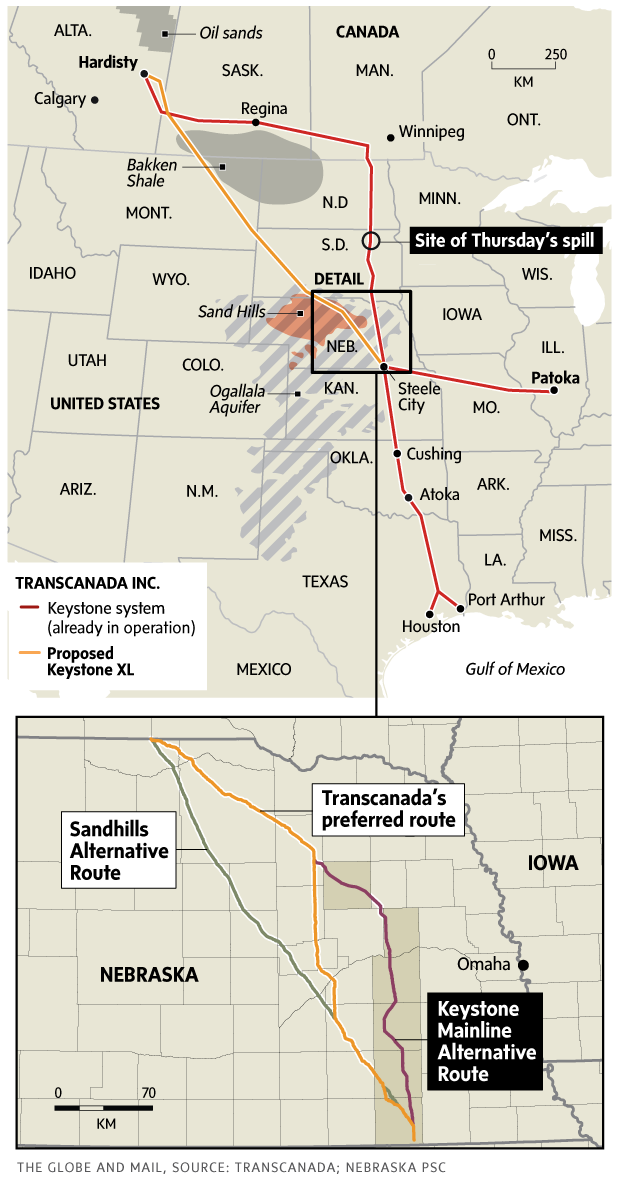 Route For Keystone Xl Approved Clearing Way For Alberta Oil The
