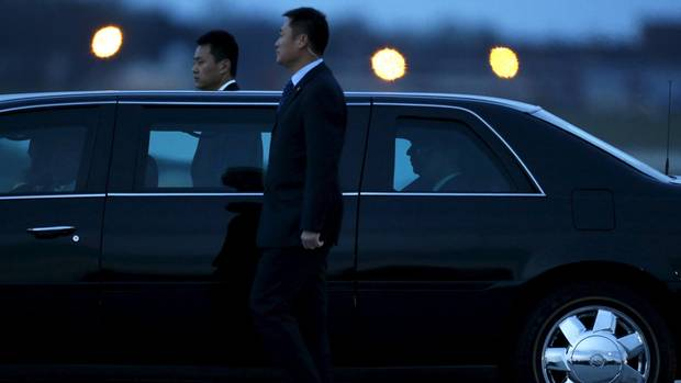 President Xi arrives in Washington for Nuclear Security Summit meetings last spring: The U.S. remains a dominant power in Asia and has retained strong ties with China's neighbours, such as South Korea, despite the courting attempts of Beijing.