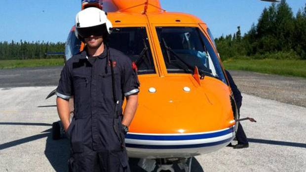 Dustin Dagenais is one of two paramedics killed when an Ornge air ambulance helicopter crashed on the James Bay coast in northern Ontario early Friday.