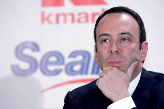 Edward Lampert, chairman and CEO of Sears Holdings Corp., is shown in this 2007 file photo.