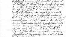 A page from Daniel Macmillan's original handwritten diary. (Goose Lane Editions)