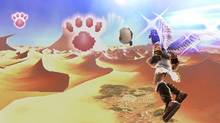 A screenshot from Kid Icarus: Uprising for Nintendo 3DS, the first new game in the Kid Icarus series in 20 years (Nintendo)