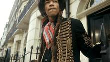 Portrait of Jimi Hendrix from Jan. 1, 1967. (KIPPA/ANP)