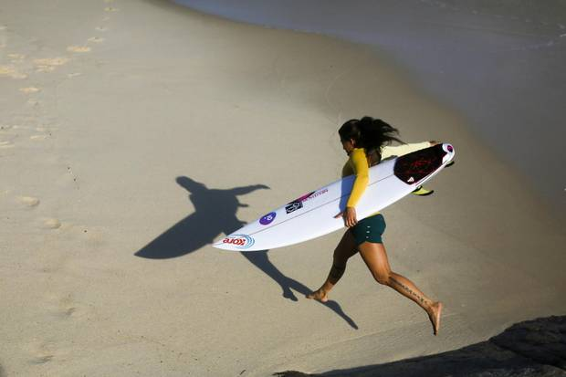 Silvana Lima is the only brazilian surfer on Women World Surfing League.