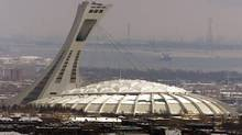 Another concrete slab has fallen at Montreal's Olympic Stadium.(CP FILE PHOTO/Ryan Remiorz) (Ryan Remiorz/CP)