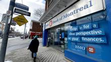 BMO is raising the minimum balance that qualifies clients for a waiver of fees in some chequing accounts. (Fred Lum/The Globe and Mail)