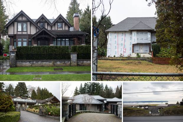 In 2015, suspected money launderers and drug dealers were involved in multimillion-dollar loans and mortgages to the owner of these five Vancouver properties. By 2016, all the properties were sold, with debts to the lenders exceeding the sale prices.