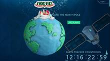 Micosoft teamed up with NORAD to revamp its Santa Tracker sites (Microsoft)