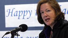 Alberta Premier Alison Redford. (JEFF McINTOSH/THE CANADIAN PRESS)