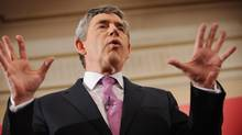 British Prime Minister Gordon Brown (Pool)